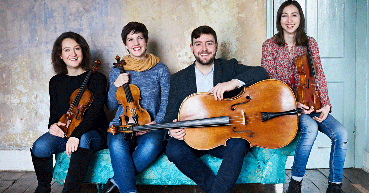 The Jubilee String Quartet – Described by the Strad Magazine